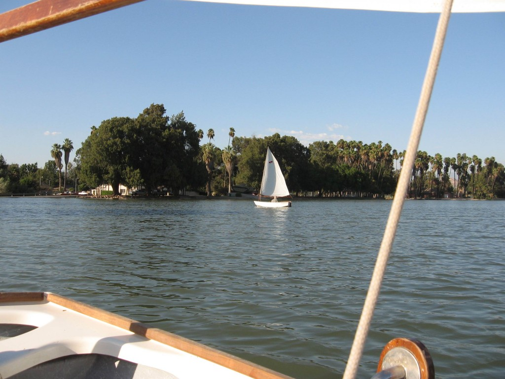 Sailing at Fairmont Park