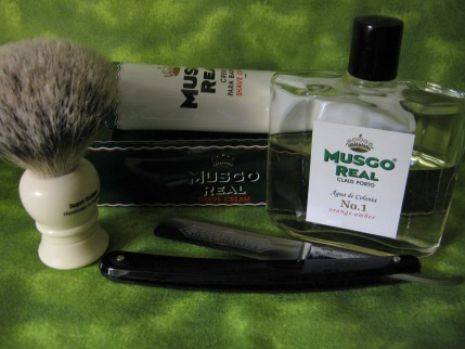 Musgo Real - shaving cream and after shave