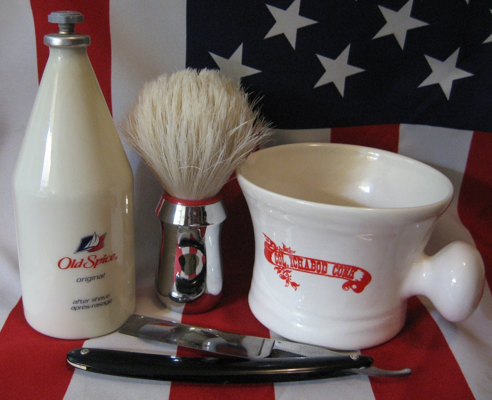 Shave of the Day – Amber and Old Spice « gdpalmer