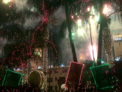Lights, Music and Fireworks
