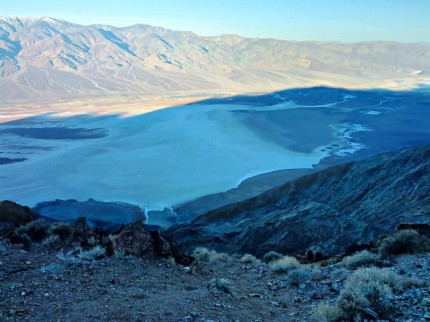Badwater from Dante's View