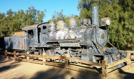 Death Valley Rail Road Engine No. 2