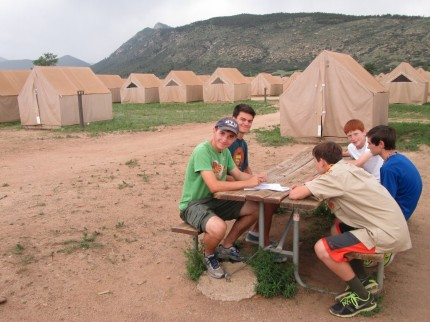 Base Camp - Philmont